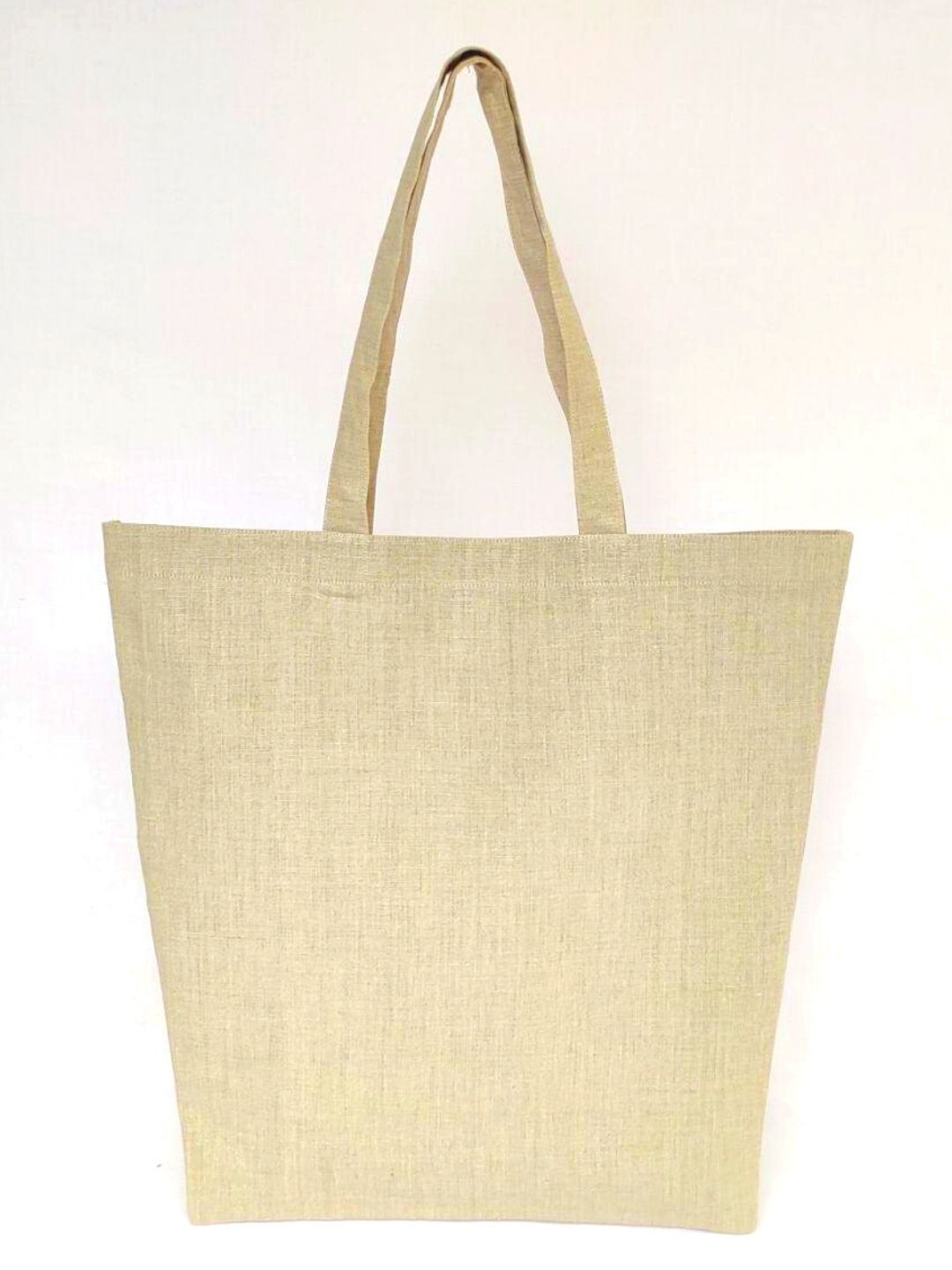 Cream Linen Handbag Bag