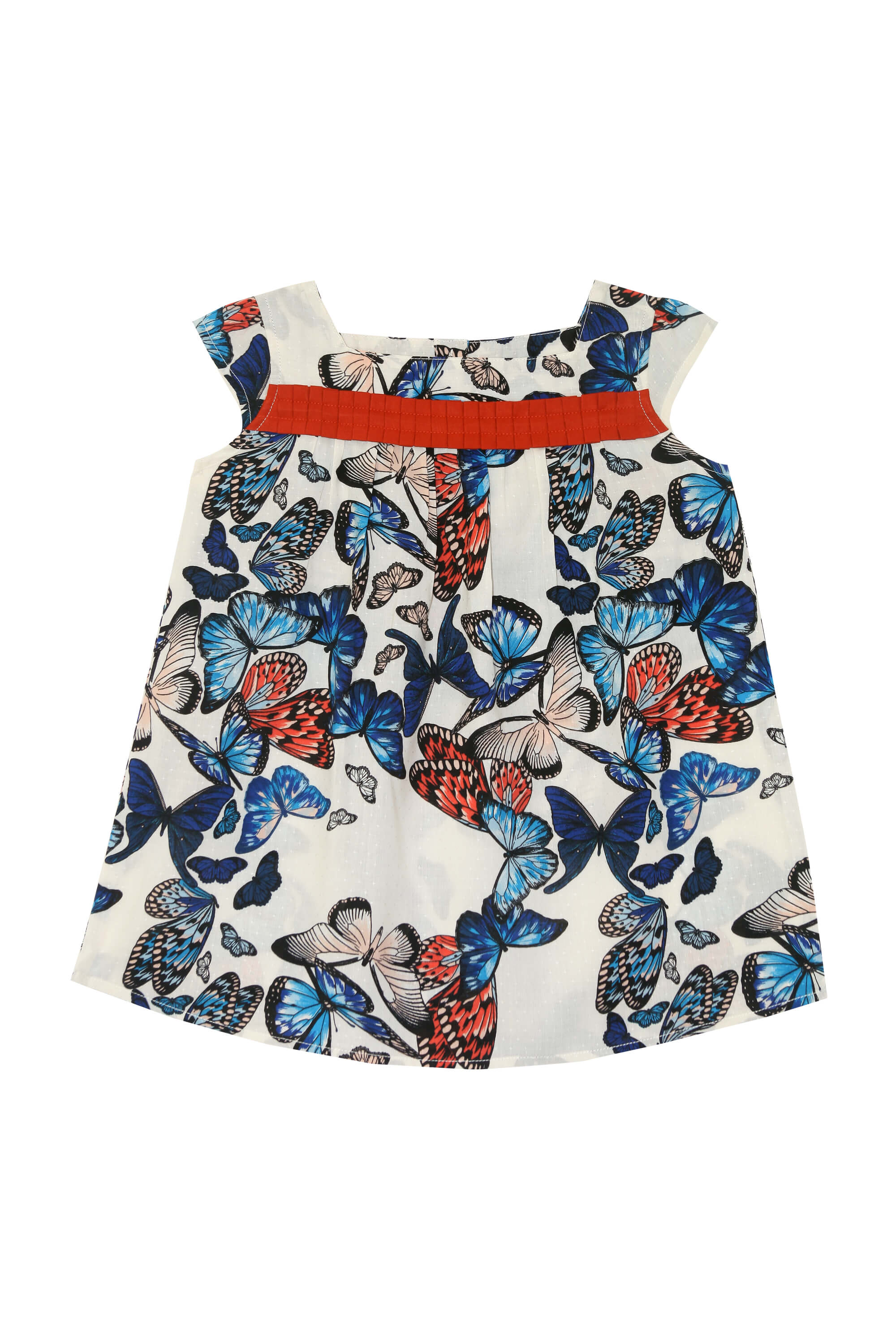 Butterfly Printed Dress
