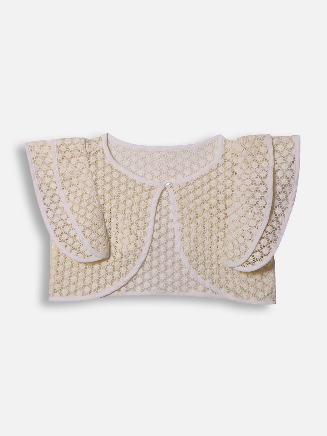 Casual Flutter Sleeve Shrug