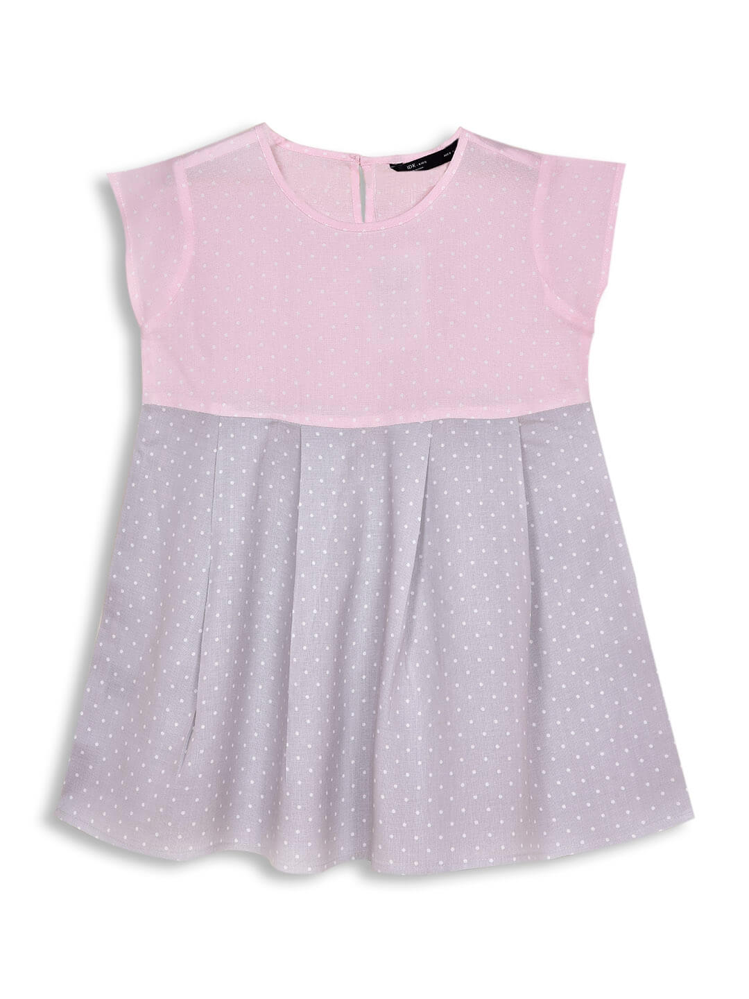 Pink Polka Dots Dress