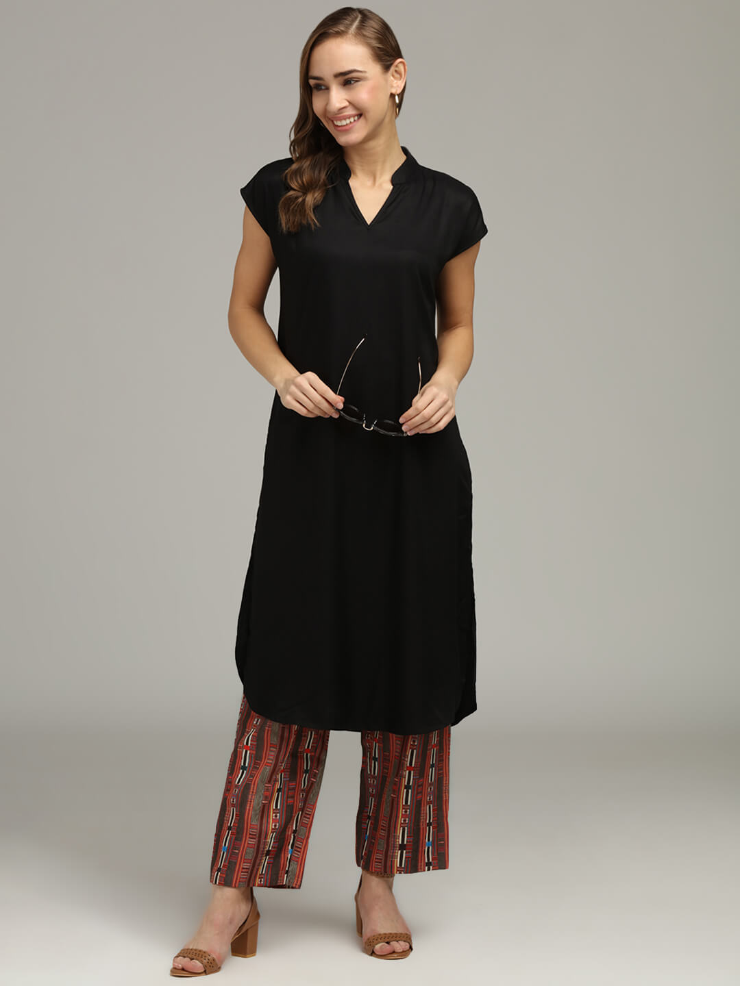 Black Tunic & Trouser set