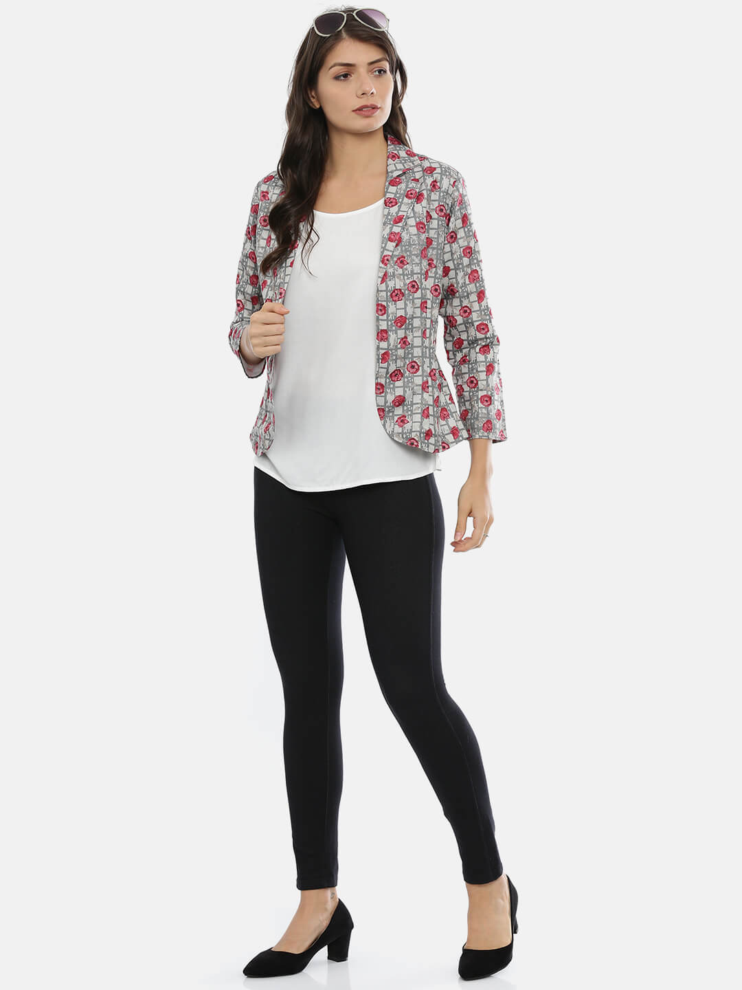 Lined Printed Jacket