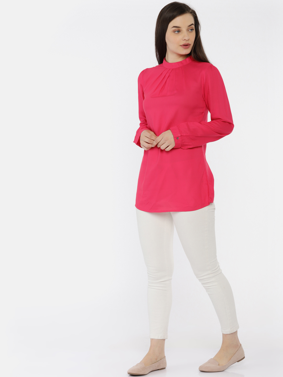 Pink Full Sleeve Top