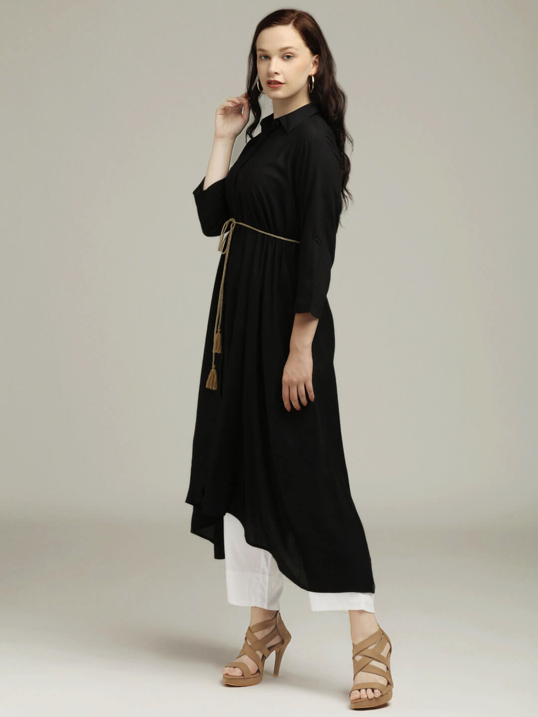 Flaired Tunic & Trouser set